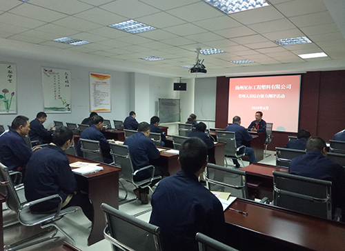 The company conducts comprehensive evaluation of management personnel