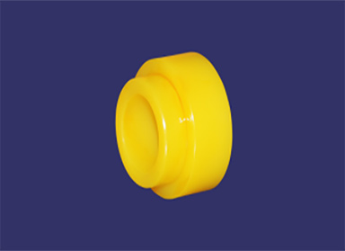 What are the three common gate types in the processing of nylon wheels for injection molded parts?